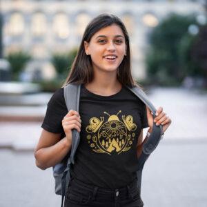 Naiste T-Särk Lepatriinu Maailm on Kuldne