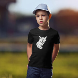 Laste t-särk rebane origami foxy blacksunset eesti disain särk