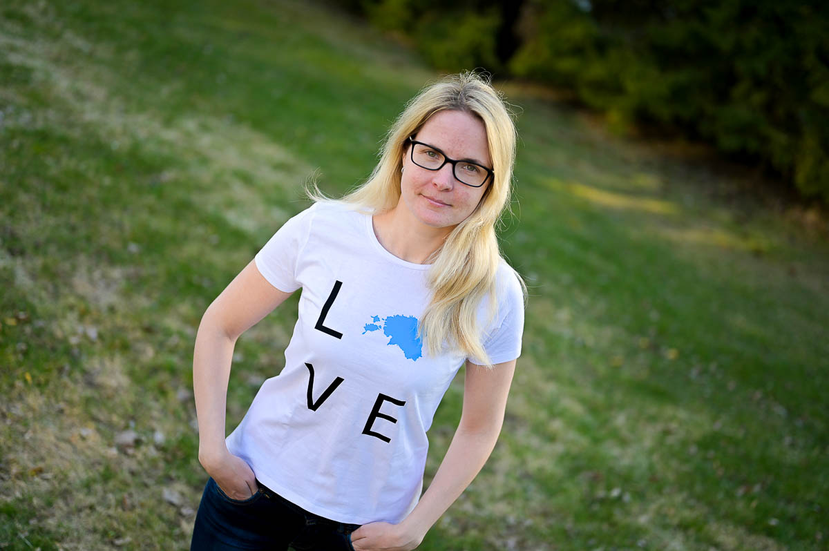 Armastan Eestit Eesti särk love Estonia t-särk naiste