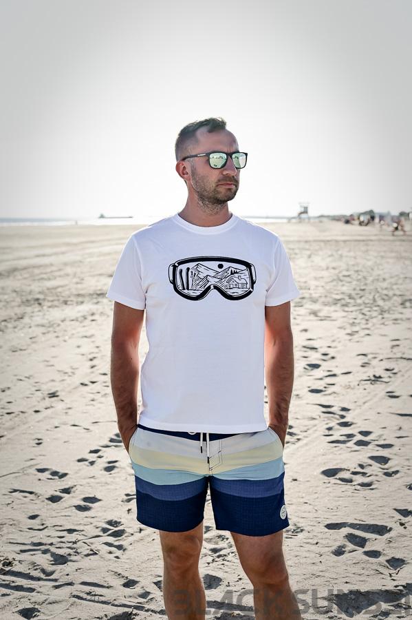lumelaua prillid meeste t-särk Pärnu Surf Center sup laud BlackSunset kleebime oü-2