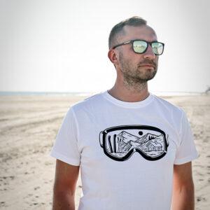 lumelaua prillid meeste t-särk Pärnu Surf Center sup laud BlackSunset kleebime oü-3