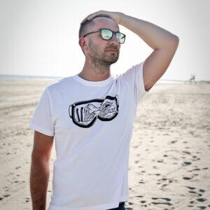 lumelaua prillid meeste t-särk Pärnu Surf Center sup laud BlackSunset kleebime oü-5